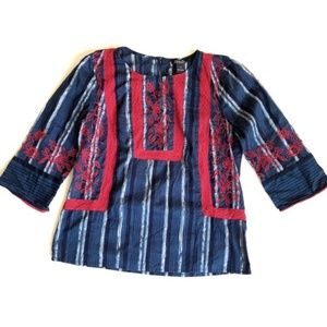 Lucky Brand Size M Embroidered